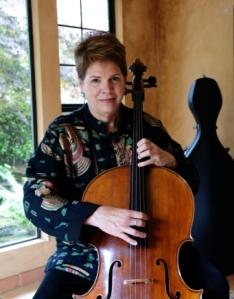 Martha playing pizzicato